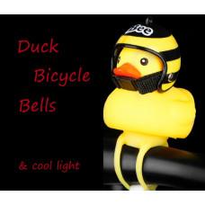 Звонок со светом жёлтая утка