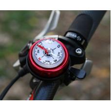 Звонок с компасом велосипедный