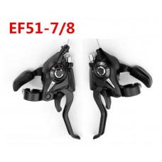 Манетки с тормозными ручками Shimano Tourney ST-EF51-7