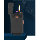 Зажигалка электроимпульсная плюс газ B-007 Double - УЦЕНКА