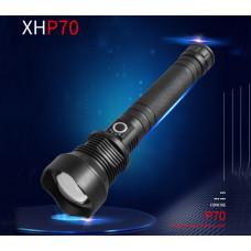 Фонарь светодиодный телескопический XHP70