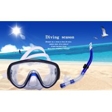 Маска для плавания с трубкой Diving Season