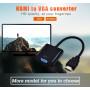 Конвертер HDMI -VGA