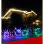 Подсветка светодиодная на колесо