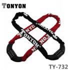 Замок-цепь кодовый TONYON TY732 0.9 метра