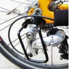 Защита заднего переключателя велосипеда