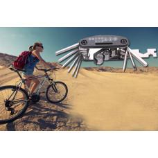 Мультитул велосипедный 16 компонентов