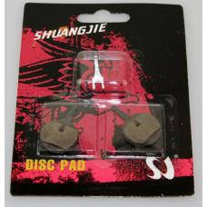 Колодки тормозные для дисковых тормозов SJ